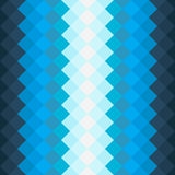 Teste padrão com quadrados azuis e azuis da obscuridade - Fotos de Stock