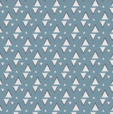 Teste padrão com triângulo Fotografia de Stock