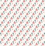 Teste padrão com triângulo Fotos de Stock Royalty Free