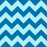 Teste padrão com ziguezague azul no fundo colorido Fotografia de Stock