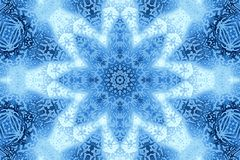 Teste padrão concêntrico abstrato Imagem de Stock