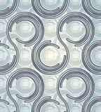 Teste padrão conectado dos círculos. Fotos de Stock Royalty Free