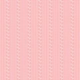 Teste padrão cor-de-rosa Imagens de Stock