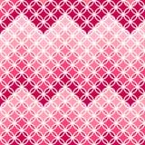 Teste padrão cor-de-rosa abstrato com ziguezague no vetor ilustração royalty free