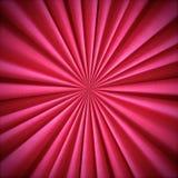 Teste padrão cor-de-rosa brilhante radial de matéria têxtil fotos de stock