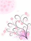 Teste padrão cor-de-rosa da abstracção Foto de Stock
