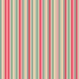 Teste padrão cor-de-rosa da listra Fotografia de Stock
