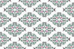 Teste padrão cor-de-rosa da videira do ferro feito fotos de stock royalty free