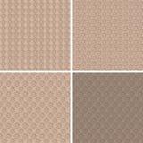 Teste padrão cor-de-rosa de Brown Imagens de Stock Royalty Free