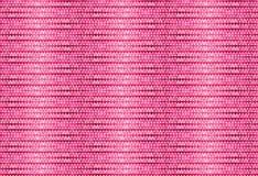 Teste padrão cor-de-rosa do coração da fibra Foto de Stock