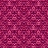 Teste padrão cor-de-rosa do damasco ilustração stock