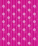 Teste padrão cor-de-rosa do papel de parede do vetor. Imagem de Stock