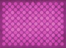 Teste padrão cor-de-rosa dos círculos do vintage Fotos de Stock Royalty Free