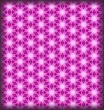 Teste padrão cor-de-rosa e branco Imagem de Stock Royalty Free