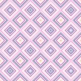 Teste padrão cor-de-rosa e roxo abstrato sem emenda das listras e dos diamantes para o dia do ` s do Valentim ilustração do vetor