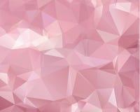 Teste padrão cor-de-rosa molde triangular Amostra geométrica repetir ilustração stock