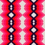 Teste padrão cor-de-rosa retro Foto de Stock