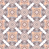 Teste padrão cor-de-rosa sem emenda da cor do vetor abstrato para o fundo ilustração stock