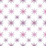 Teste padrão cor-de-rosa sem emenda do vetor Foto de Stock