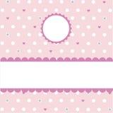 Teste padrão cor-de-rosa sem emenda, papel de parede Foto de Stock Royalty Free