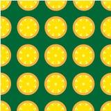 Teste padrão cortante retro do limão do contraste brilhante Fotos de Stock Royalty Free