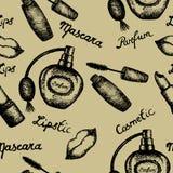 Teste padrão cosmético Fotos de Stock