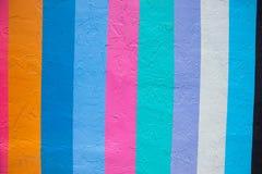Teste padrão criado das listras verticais coloridos foto de stock royalty free