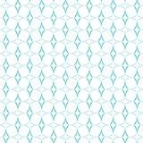 Teste padrão curvado dos diamantes ilustração royalty free