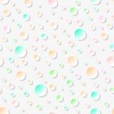 Teste padrão 3D sem emenda geométrico abstrato Ilustração do Vetor