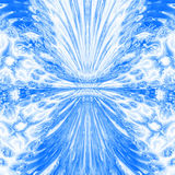 Teste padrão da água azul ilustração do vetor