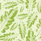 Teste padrão da aquarela do fundo sem emenda da textura das folhas ilustração do vetor