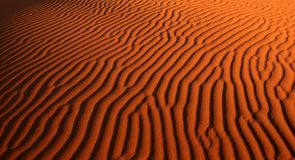 Teste padrão da areia do deserto fotos de stock royalty free