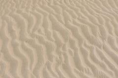 Teste padrão da areia no deserto Fotografia de Stock