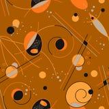 Teste padrão da arte abstrato Imagem de Stock Royalty Free