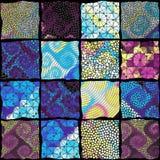 Teste padrão da arte do mosaico do vetor Imagem de mosaico do vetor ilustração do vetor