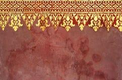 Teste padrão da arte em Ásia Foto de Stock Royalty Free
