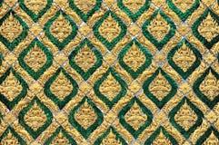 Teste padrão da arte tailandesa tradicional Fotografia de Stock Royalty Free
