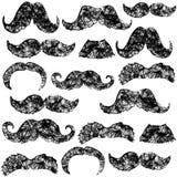 Teste padrão da barba Foto de Stock Royalty Free