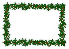 Teste padrão da beira do azevinho Imagens de Stock Royalty Free