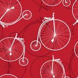 Teste padrão da bicicleta Imagens de Stock Royalty Free