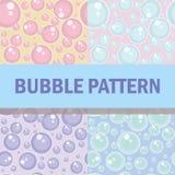 Teste padrão da bolha Imagens de Stock
