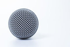 Teste padrão da cabeça do mic Imagem de Stock Royalty Free