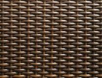 Teste padrão da cadeira de vime Imagem de Stock
