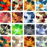 Teste padrão da camuflagem Fotos de Stock