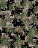 Teste padrão da camuflagem de Digitas Foto de Stock Royalty Free