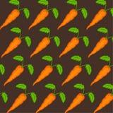 Teste padrão da cenoura Imagens de Stock