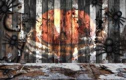 Teste padrão da cerca de madeira em casa Fotos de Stock