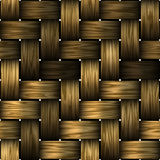Teste padrão da cesta Imagens de Stock