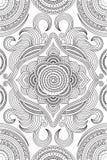 Teste padrão da coloração Fotografia de Stock