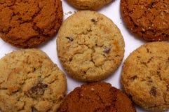 Teste padrão da cookie Fotos de Stock Royalty Free